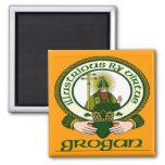 Grogan Clan Motto Magnet