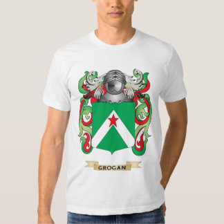 Grogan Coat of Arms (Family Crest) T-shirt