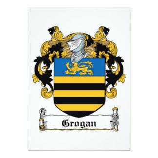 Grogan Family Crest Custom Announcements