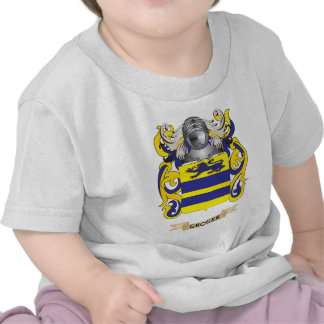 Groger Coat of Arms (Family Crest) Tees