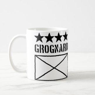 Grognard de cuatro estrellas taza de café