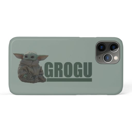 Grogu Name Graphic iPhone 11 Pro Case