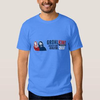 Grohlkins para el presidente (parodia política) poleras