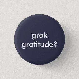 Grok Gratitude Round Button