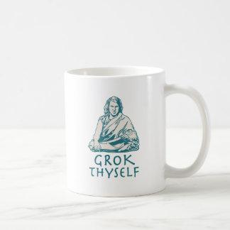 Grok usted mismo taza de café