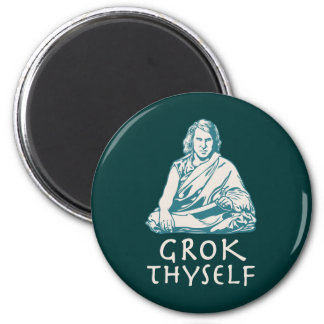 Grok Yourself 2 Inch Round Magnet