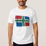 Groningen Waving Flag T-Shirt