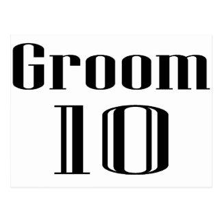 Groom 10 postcard
