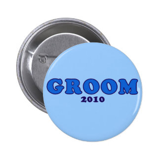 Groom 2010 buttons