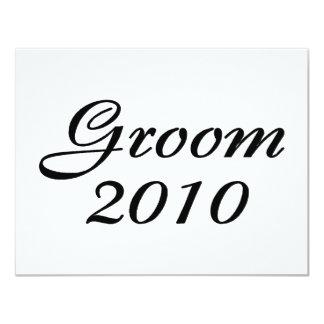 Groom 2010 card