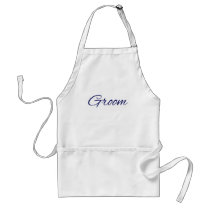 Groom Adult Apron