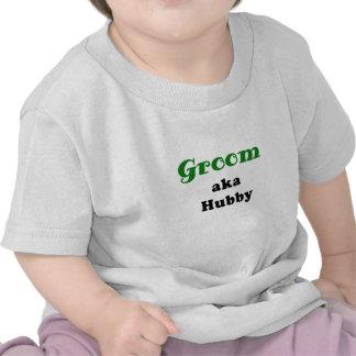 Groom aka Hubby Tee Shirt