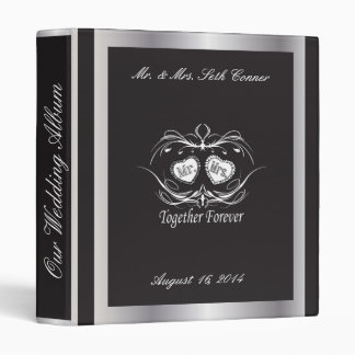 Groom and Bride Photo Album Binder