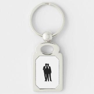 Groom and Groom Wedding Keychain