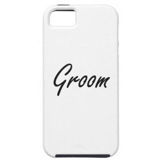 Groom Artistic Job Design iPhone 5 Case