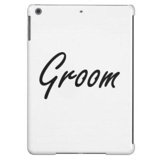 Groom Artistic Job Design Cover For iPad Air