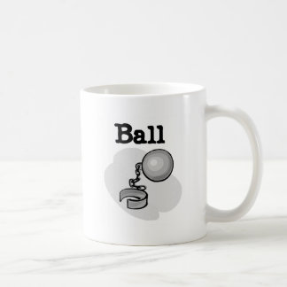 Groom Ball and Chain Tshirts and Gifts Coffee Mug