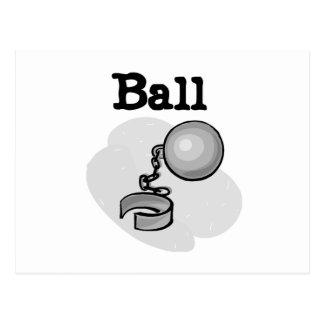 Groom Ball and Chain Tshirts and Gifts Postcard