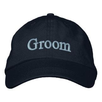 Groom baseball hat embroidered hat