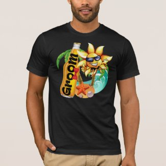 Groom Beach Beer Honeymoon T-Shirt