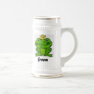 Groom Beer Stein