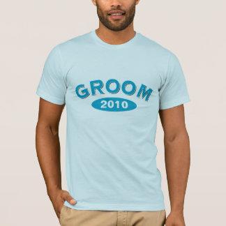 Groom Blue Arc 2010 T-Shirt