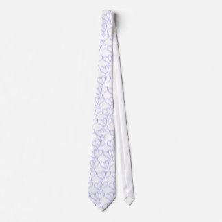 Groom Blue Hearts Wedding Tie. Tie
