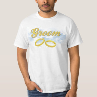 Groom, Blue Sky and Clouds T-Shirt