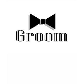 Groom (Bow Tie) shirt