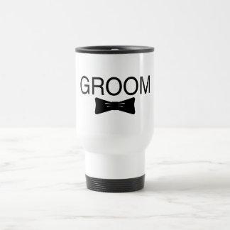 Groom Bowtie Coffee Mug