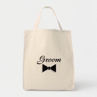 Groom Bowtie Tote Bag