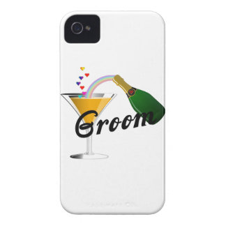 Groom Champagne Toast iPhone 4 Cover
