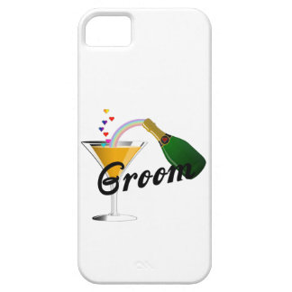 Groom Champagne Toast iPhone SE/5/5s Case