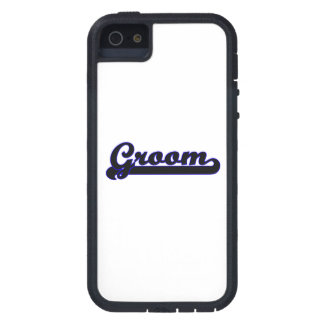 Groom Classic Job Design Cover For iPhone 5