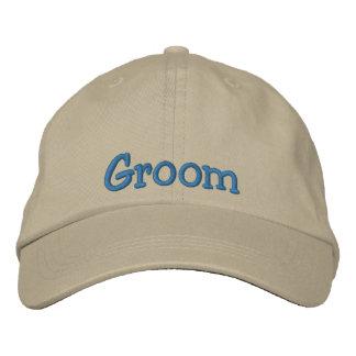 Groom Embroidered Cap Baseball Cap