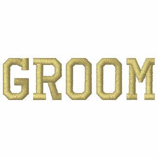 GROOM Embroidered Customizable Hoodie