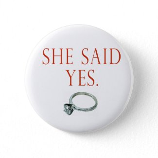 Groom Engagement button