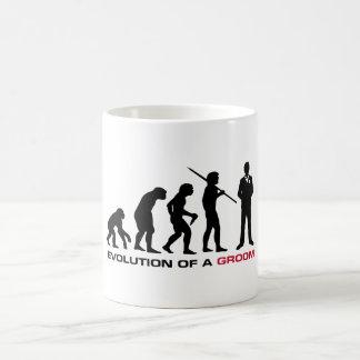 Groom Evolution Mug