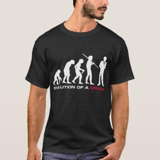 Groom Evolution T-shirt (Black)
