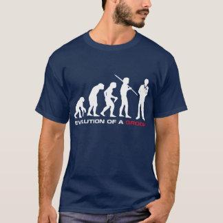 Groom Evolution T-shirt (Navy)