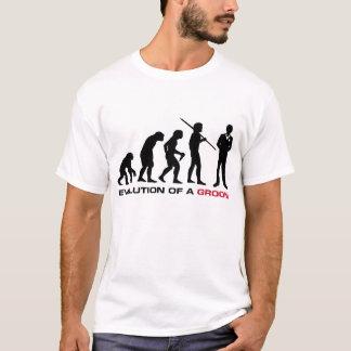 Groom Evolution T-shirt (White)