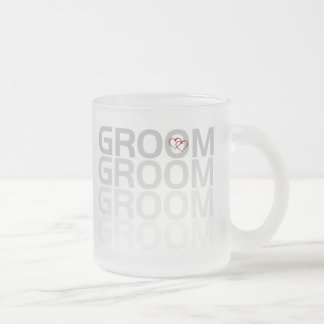 Groom Fade Coffee Mugs