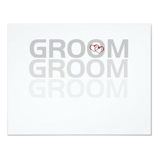 Groom Fade Tshirts and Gifts Card