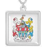 Groom Family Crest Custom Jewelry