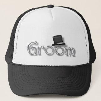 ♥ Groom ♥ for Bachelor Party, Rehearsal Dinner ♥ Trucker Hat