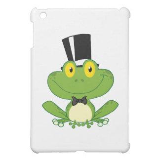 Groom Frog Cartoon Character iPad Mini Cover