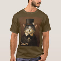 GROOM,funny groom cat T-Shirt