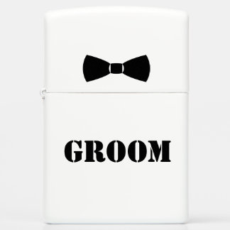 Groom Funny Zippo Lighter