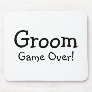 Groom Game Over Mouse Pad