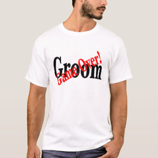 Groom (Game Over Red) T-Shirt